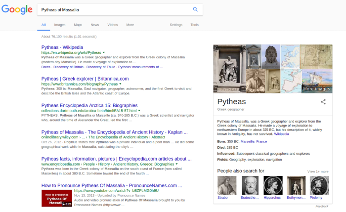 pytheas-results